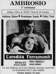 L'eredità Ferramonti 2