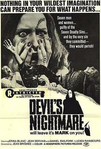 La terrificante notte del demonio locandina 2