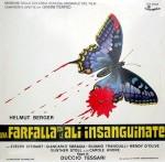 Una farfalla con le ali insanguinate locandinasound