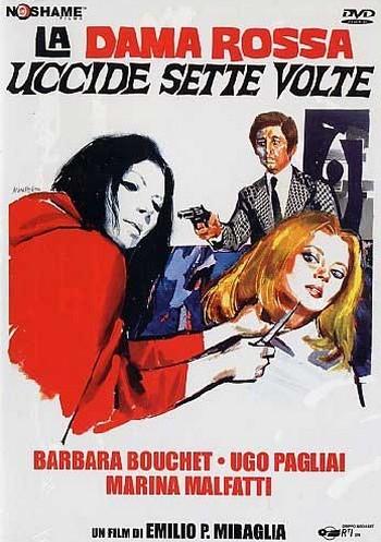 La dama rossa uccide sette volte locandina 1