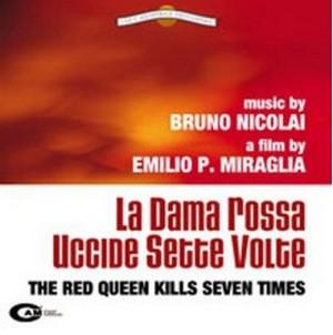 La dama rossa uccide sette volte locandina sound