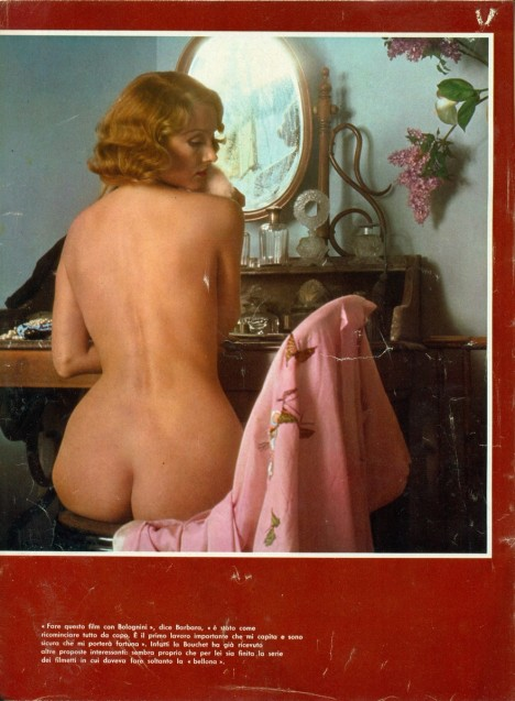 Barbara Bouchet nudo d'autore