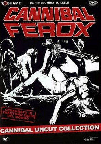 Cannibal ferox locandina 2