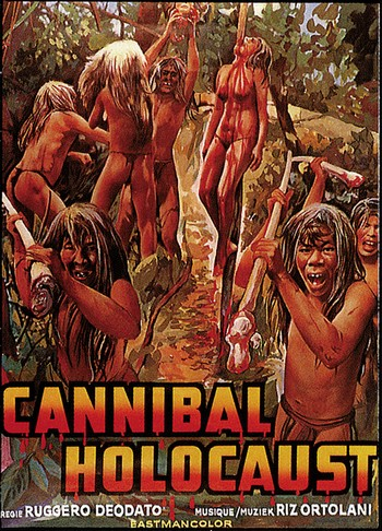 Cannibal holocaust locandina 5