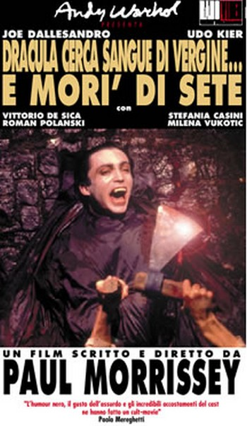 Dracula cerca sangue di vergine…e morì di sete locandina 2