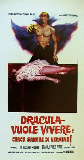 Dracula cerca sangue di vergine…e morì di sete locandina 3