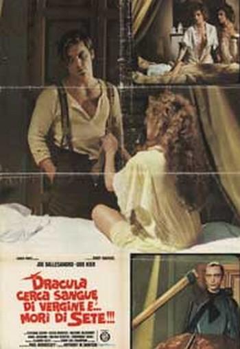 Dracula cerca sangue di vergine…e morì di sete locandina 4