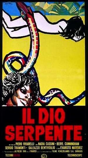 Il dio serpente locandina 1