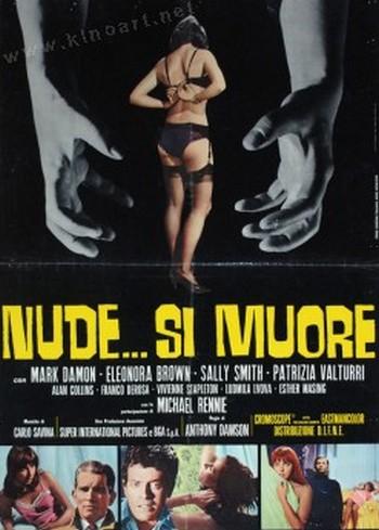 Nude si muore locandina 4