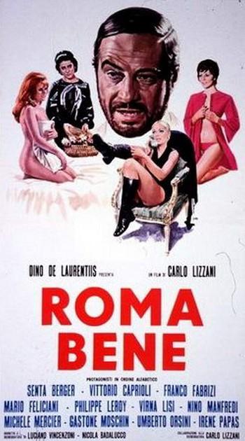 Roma bene locandina 1