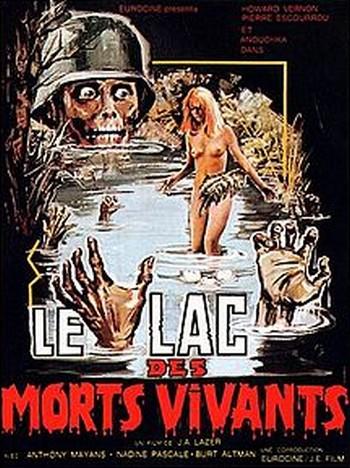 Zombie lake locandina 2