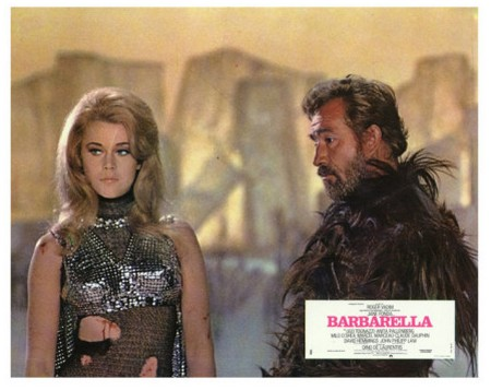 Barbarella lobby card 1