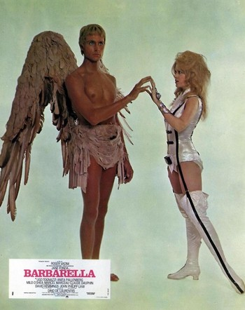 Barbarella lobby card 2