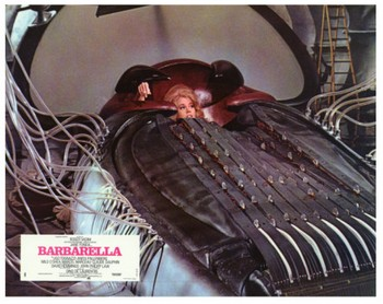 Barbarella lobby card 3
