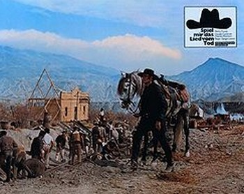 C'era una volta il west lobby card 1