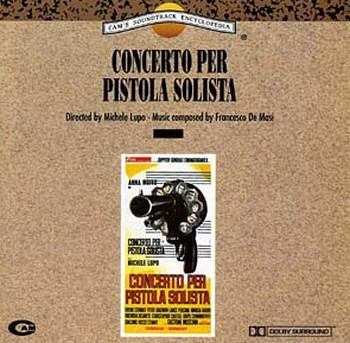 Concerto per pistola solista locandina sound