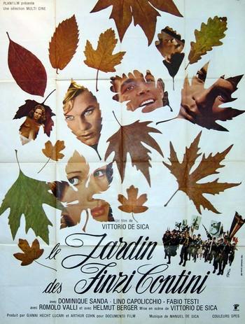Il giardino dei Finzi Contini locandina 2