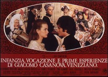 Infanzia, vocazione e prime esperienze di Giacomo Casanova lobby card 1