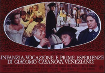 Infanzia, vocazione e prime esperienze di Giacomo Casanova lobby card 2