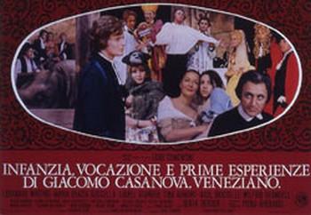 Infanzia, vocazione e prime esperienze di Giacomo Casanova lobby card 3