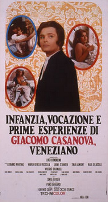 Infanzia, vocazione e prime esperienze di Giacomo Casanova LOCANDINA 0