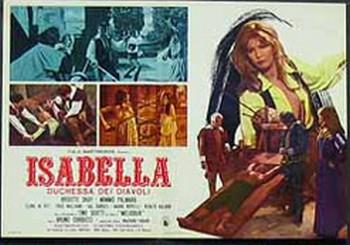 Isabella duchessa dei diavoli lobby card 1