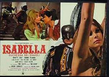 Isabella duchessa dei diavoli lobby card 2