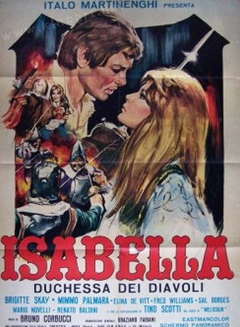 Isabella duchessa dei diavoli locandina 1