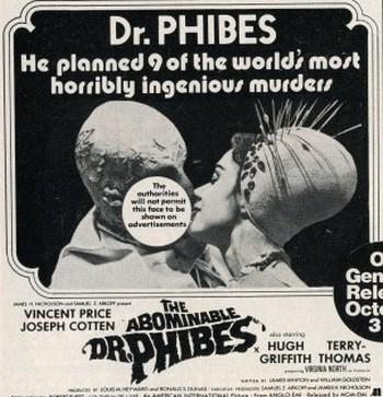 L'abominevole Dr.Phibes locandina flano