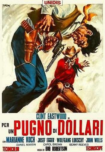 Per un pugno di dollari locandina 3