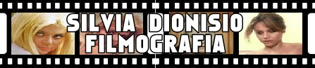 Silvia Dionisio- Banner filmografia