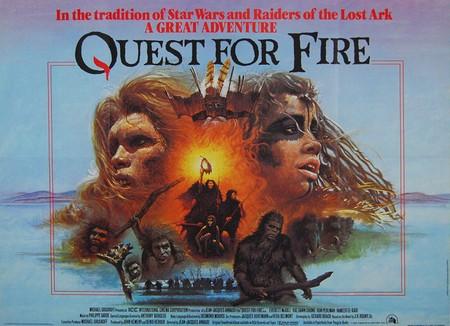 La guerra del fuoco locandina 3