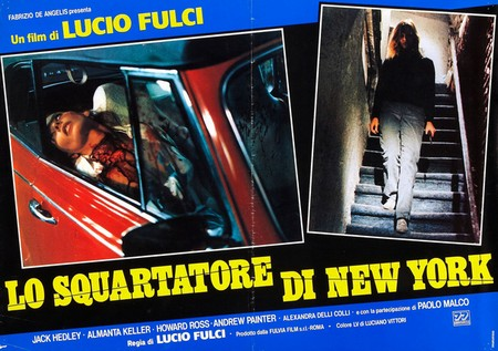 Lo squartatore di New York lobby card 1