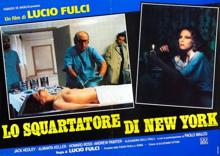 Lo squartatore di New York lobby card 2