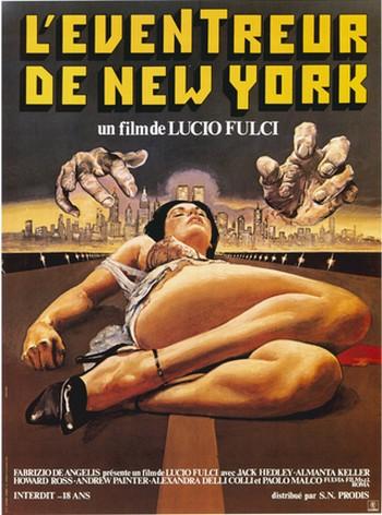 Lo squartatore di New York locandina 1
