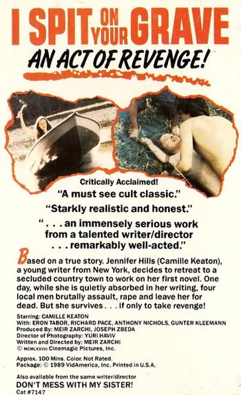 Non violentate Jennifer locandina 1