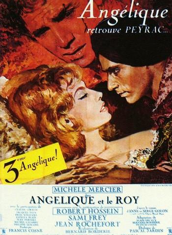 Angelica alla corte del re locandina 1