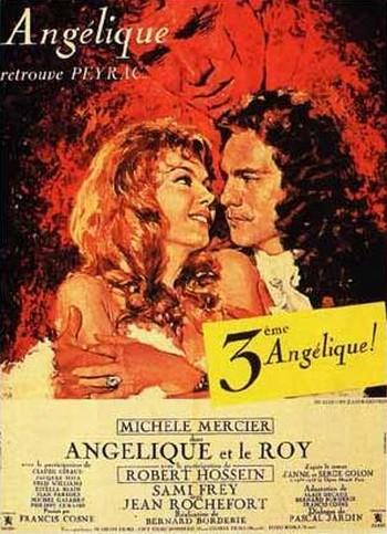 Angelica alla corte del re locandina 2