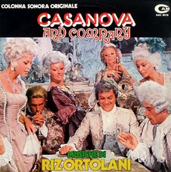 Casanova e co locandina sound