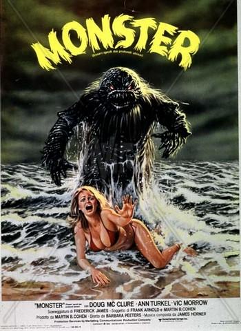 Monster - Esseri ignoti dai profondi abissi locandina 2