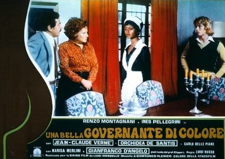 Una bella governante di colore lobby card 1