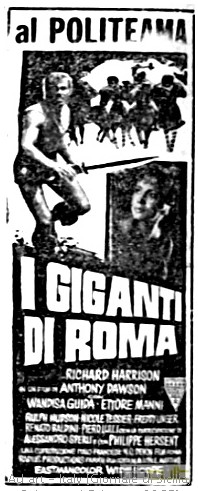 I giganti di Roma flano