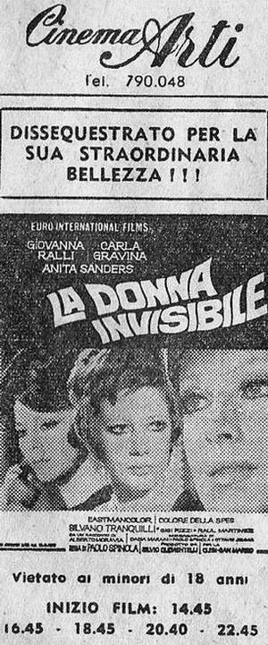 La donna invisibile flano