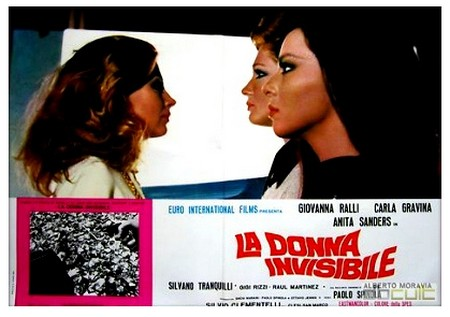 La donna invisibile lobby card