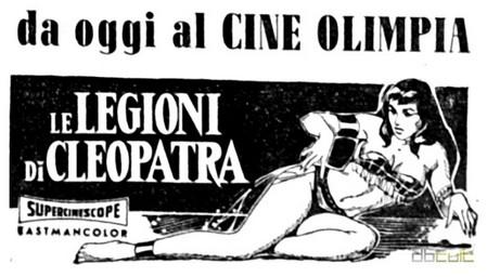 Le legioni di Cleopatra flano