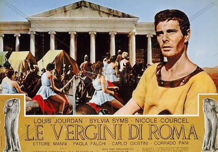 Le vergini di Roma lobby card