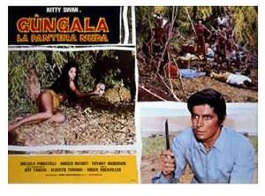 Gungala la vergine della giungla lobby card 1