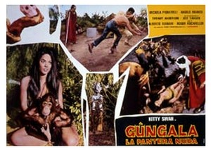 Gungala la vergine della giungla lobby card 2
