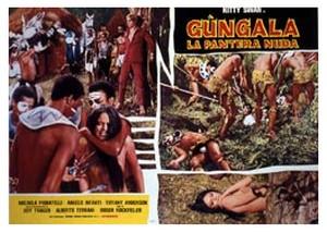 Gungala la vergine della giungla lobby card 3