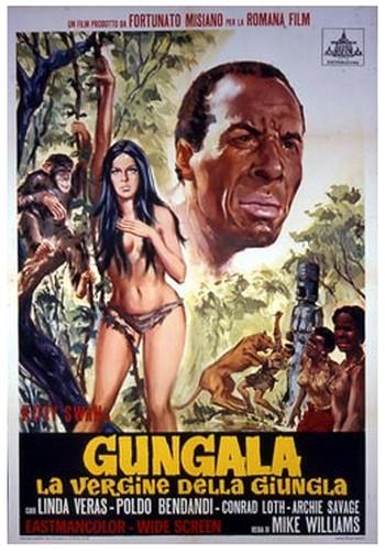 Gungala la vergine della giungla locandina 1